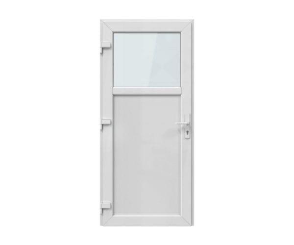 kunststof deur met kozijn