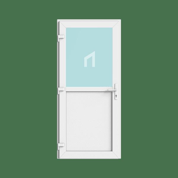 kunststof buitendeur met kozijn