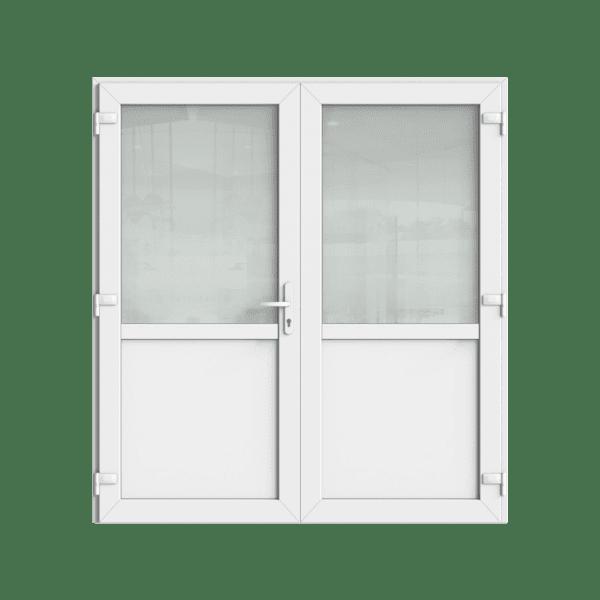 Kunststof openslaande deuren