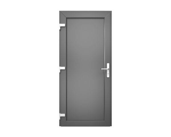 antraciete kunststof deur