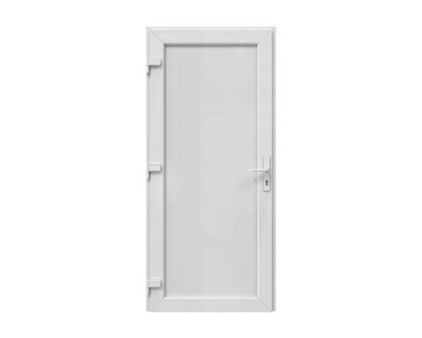 kunststof deur met paneel