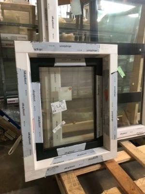Draaikiep raam met verdiept profiel 644x805